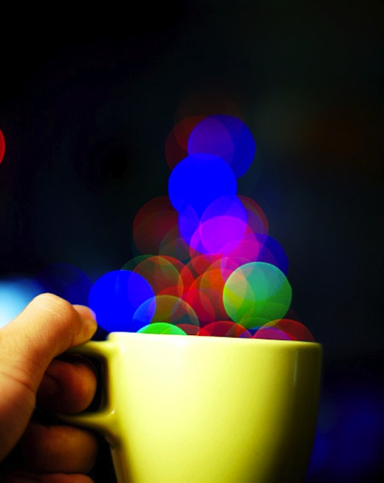 Example of bokeh photography
